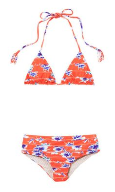 """More coverage for your booty never hurt.<br /><br />Bikini top, $106, and bottom, $110, Acacia Swimwear, <strong><a href=""""http://www.acaciaswimwear.com/"""">acaciaswimwear.com</a></strong>"""