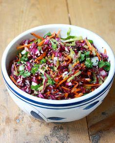 Rode Kool Salade met Oosterse dressing