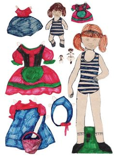 Hjemmetegnede påklædningsdukker fra 1974. Homemade Paper Dolls from 1974 - maria cristina rosales - Picasa Webalbum