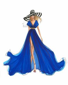Ideas Jewerly Drawing Watercolor Fashion Illustrations For 2019 Dress Design Sketches, Fashion Design Drawings, Fashion Sketches, Fashion Artwork, Fashion Prints, Fashion Drawing Dresses, Fashion Illustration Dresses, Fashion Dresses, Fashion Illustrations