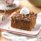 Gingerbread with Crunchy Topping Recipe