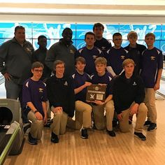 Both Boys and Girls Bowling teams roll their way to Runners Up in the district tournament! Congratulations bowlers!!