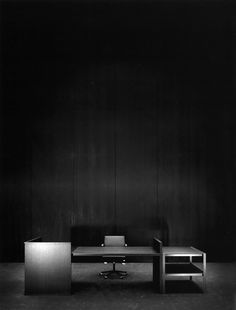 #170 Desk and Chair for Bulo, 2004 (by Vincent Van Duysen)