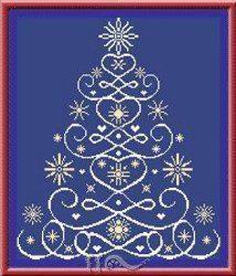 Christmas Tree 12 - Cross Stitch Pattern; see me about this great website for Christmas gifts.