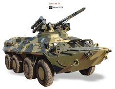 Десять видов новой военной техники, которая была принята на вооружение ВСУ в 2014-2015 годах