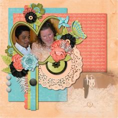 This is our special day! Made By using the Love and Happiness Kit by Scrapbookcrazy Creations by Robyn   Available at Go Digital Scrapbooking store  and My Memories store