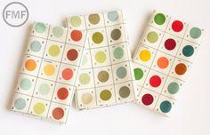 Half Yard Bundle Lush Uptown Paintbox, 3 Pieces, Erin Michael, Moda Fabrics, 100% Cotton Fabric, 26047 22 on Etsy, $15.75