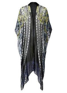 Mirror leopard print  poncho wrap. Length 200cm , width 100cm. One size. Viscose.