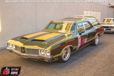 Folks can't seem to get enough of the @lingenfelterlpe 1970 Oldsmobile Vista Cruiser station wagon, featuring a supercharged LS3