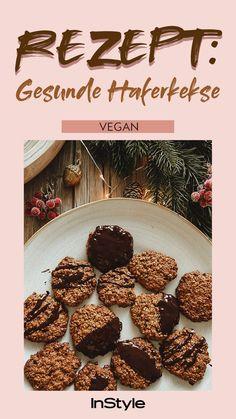Vegan Sweets, Vegan Desserts, Vegan Recipes, Cooking Recipes, Healthy Cookies, Healthy Snacks, Easy College Meals, Christmas Cookies Kids, Sweet Cooking