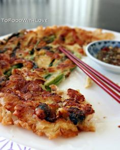 To Food with Love: Pajeon (Scallion Pancake)