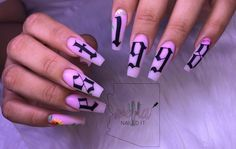 Mar 2020 – fye birthday nails – fye nails , fye nails coffin , f… – Typical Miracle Best Acrylic Nails, Acrylic Nail Designs, Aycrlic Nails, Coffin Nails, Chic Nails, 21st Birthday Nails, Acryl Nails, Fire Nails, Dream Nails