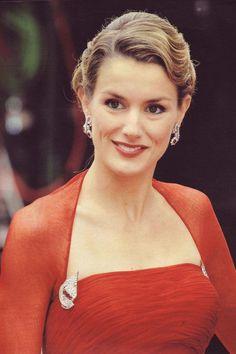 Princess Letizia Rocasolano Ortiz (1972-living-2013) wife of heir to throne Prince Felipe (Philip John Paul Alphonse of All Saints) (1968-living2013) of Spain. Her 1st husband was Alonso Guerrero Pérez   (m. 1998; div. 1999), no children with him.