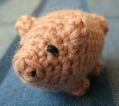 free crochet patterns: little lucky pig - crafts ideas - crafts for kids
