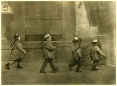 Now open at the New-York Historical Society | Chinese American: Exclusion/Inclusion, through April 19, 2015. [Four children], Chinatown, San Francisco, ca.1895-1906.  Photograph by Arnold Genthe, PR 019. New-York Historical Society, 89233d.