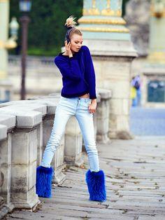 Vogue Paris September 2014 | Magdalena Frackowiak by Gilles Bensimon