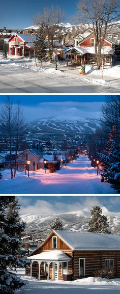 Winter Wonderland in Breckenridge, CO. It's the best time of year to visit Breck for some holiday cheer! Learn more here: http://www.gobreck.com/lodging
