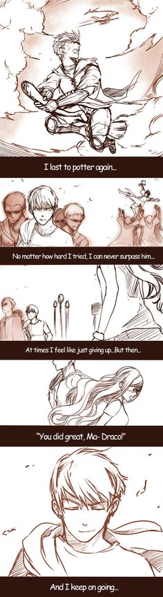 Dramione - Keep Going by fingernailtreez.deviantart.com on @deviantART