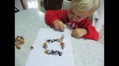 Sugestão de atividade para crianças de 3 anos ou mais (fácil, barata, bo...