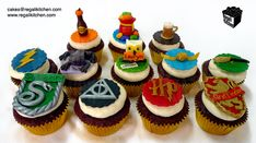 Image result for harry potter cupcakes