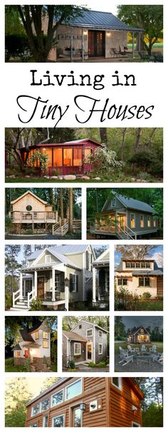 Collection of 10 Tiny Houses