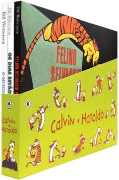 [Saraiva] Box Calvin e Haroldo - 3 volumes - R$ 32,90
