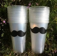 24 Mustache Party Cups, Mustache Party, Mystery Party Cups on Etsy, Ideas Little Man Party, Little Man Birthday, Baby 1st Birthday, First Birthday Parties, Birthday Party Themes, First Birthdays, Birthday Ideas, Birthday Recipes, Birthday Bash