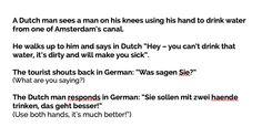 Nederlanders maken vaak grappen over Duitsers!