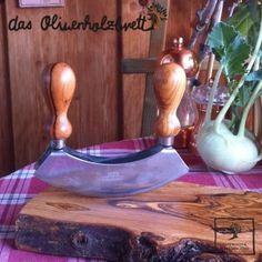 #Kräuterwiege #Kräuter #Schneidemesser aus #Olivenholz #mezzaluna special #wooden #cutting #knife for #herbs out of olive wood