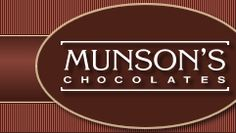 Munsons Chocolates- Bolton,CT    Some people say it's the best chocolate in CT, I say it's the best in the world.