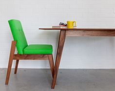 Acorn Dining Table - Contemporary Handmade Wooden Dining Table