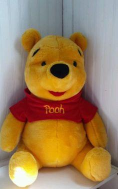 "Disney WINNIE THE POOH 21"" Inch Large Big Jumbo Stuffed Animal Plush Bear #Disney"