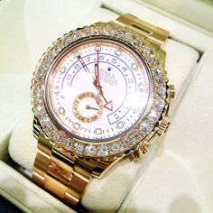 From Ben Baller's collection. Yachtmaster II. Diamonds.