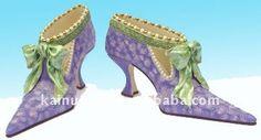 #Ceramic shoes