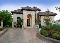 Mediterranean Estate Home - mediterranean - exterior - dallas - AVID Associates LLC