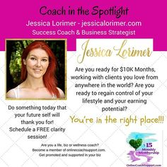 Jessica is a Success Coach and Business Strategist who truly believes that everyone can create the life of their dreams. Now, she's in no way 'woo-woo' (and is a firm believer in telling it how it is!) but she totally believes in the power of your mindset – and is committed to ensuring that every woman who works with her achieves her goals.  She helps women ditch their 9-5, monetise their passions and create successful, online freedom based businesses that they love!!! For further info…