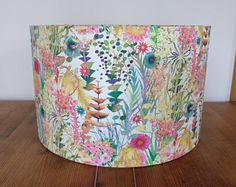 Liberty Floral Meadows 40cm Drum Lampshade