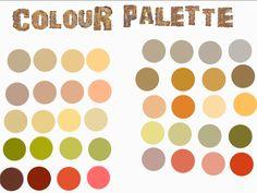 Colour palette for external board...