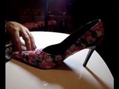 Faça em casa - Sapatos forrados