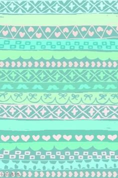 A cool tribal, tealish, background that was courtesy of Cocoppa and it looks really good with a teal, or violet case!:)