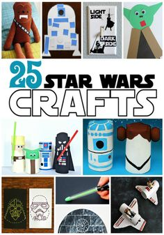 25 Out of This World Star Wars Crafts for Kids - Play Ideas