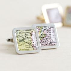 Personalised grid reference compass keyring mens accessories personalised square map location cufflinks for him negle Gallery
