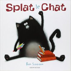 Splat is my room mascot! FREE 'Splat the Cat' Printable Activity Pages Splat Le Chat, The Rok, Pet Mice, Readers Theater, 1st Day Of School, Cat Boarding, In Kindergarten, Art Lessons, Childrens Books