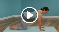 Cat Cow will stretch out your spine and core after a long road trip. | 42Yogis.com