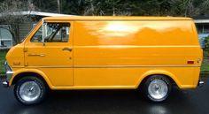 1972 Ford Econoline Van E100 Fully Restored