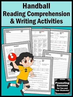 Summer Olympics Sports 2016 HANDBALL Literacy Worksheet Activities: These worksheets work well for bell ringers, early finishers, as morning work or homework or as extra practice for ESL, special education, autism (ASD) and speech and language therapy. Student will read a nonfiction reading passage, will complete fill-in-the-blank sentences from the passage and will practice creative writing with a story prompt. A blank writing paper is also included. An answer key and writing rubric are…