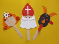 Christmas Decorations For Kids, Christmas Diy, Christmas Ornaments, Paper Crafts For Kids, Projects For Kids, St Nicholas Day, Holidays And Events, Preschool Activities, Holiday Crafts