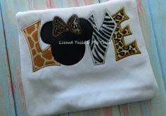 Animal Print Shirt - Animal Kingdom - Love Disney - Wild About Disney Shirt…