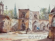 Savva Watercolour Artist - Savva Watercolour Artist Watercolour, Artist, Painting, Watercolor Sketch, Pen And Wash, Watercolor Painting, Watercolor, Artists, Painting Art