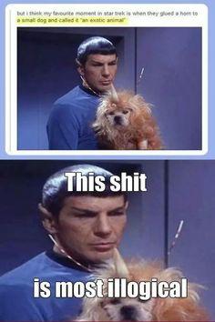 Star Trek exotic animal